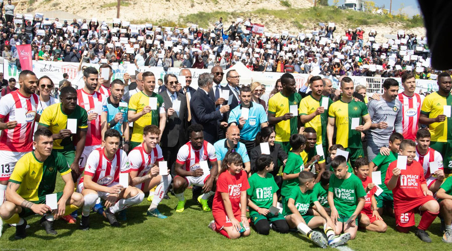 Lasting peace in Cyprus through Football
